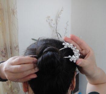 发型热点 > 长发如何盘发 >   怎样盘既简单又漂亮的发型?图片