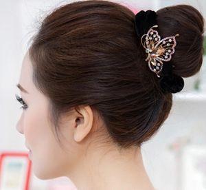 > 长发如何盘发 >   留着长头发的女生们,想不想要一种盘出简单既漂亮图片