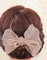 自己日常生活盘发发型 女士简单盘发发型