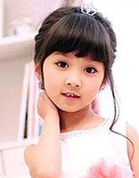 儿童齐刘海发型怎么剪 女童齐刘海长发发型