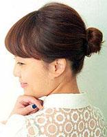 中短发怎么扎丸子头 短发丸子头扎法步骤图解