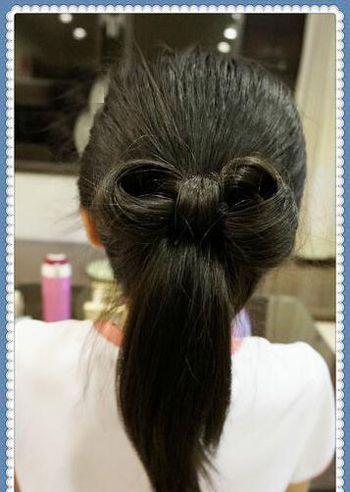 一款12岁小学生女生扎头发步骤快来尝试吧!
