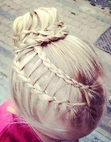怎么给小孩子编头发 小孩编头发的方法