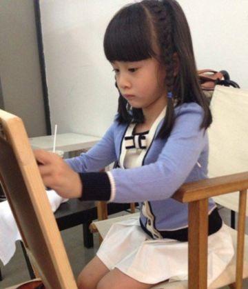 看儿童脸型剪刘海发型图片 儿童刘海发型修剪图片