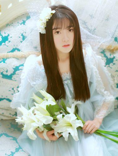 2016年流行什么带齐刘海的直发发型 齐刘海直发发型