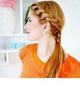 简单清爽的发型怎么扎 日韩发型扎法图片步骤