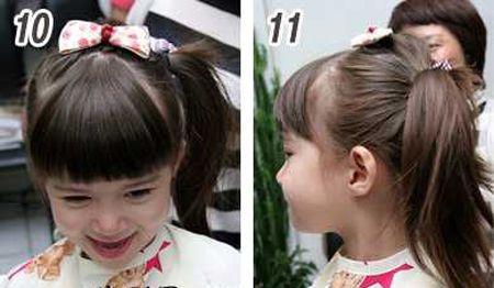 简单发型扎法_简单发型扎法学习_简单发型扎法图解_扎图片