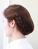 短头发怎样盘发好看 盘发器编短头发花样步骤
