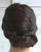 中年人带刘海的头发如何盘发 长刘海怎么盘头发好看