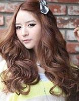 韩式哈密烫用什么号的杠 韩国烫发图片女