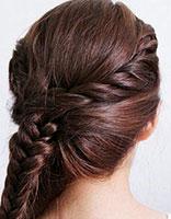 怎样盘气质发型 简约盘发发型图片步骤