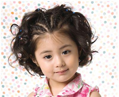 短发的小女孩怎么做好看的刘海编发呢?