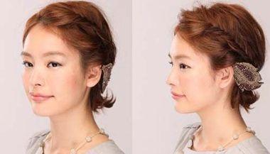 头发少跟头发短怎么编头发 短头发头发辫子编发