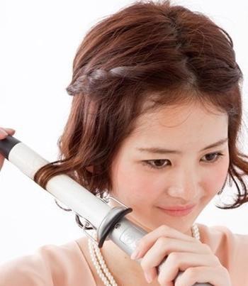 女生短发发型编织 短发编发发型步骤图片