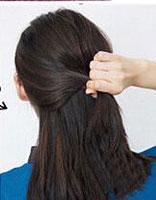 初中学生发型扎法中发 简单的发型扎法初中生