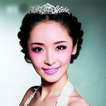 韩式新娘盘头发的步骤 新娘简单高贵头发盘扎图解[新娘发型]-新娘发型图片