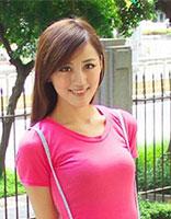 斜刘海适合冬天中学生简单的发型