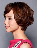 短发烫发发型打理 最好打理的短头发