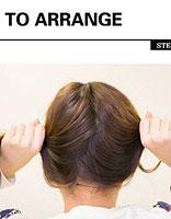 小女孩长发盘头的方法 小女孩盘头发图片