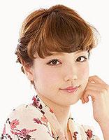 适合圆脸韩国盘头发 简单的韩国圆脸盘发