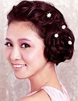 新娘发型图片编发步骤 参加婚礼编发发型