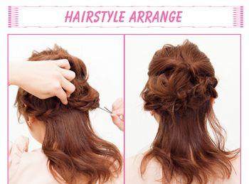 烫发怎么扎简单好看图片 烫发简单扎发