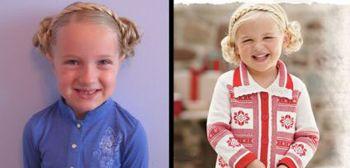 五六岁女孩留齐刘海好看吗 齐刘海小女孩图片[儿童发型]-女童发型 小图片
