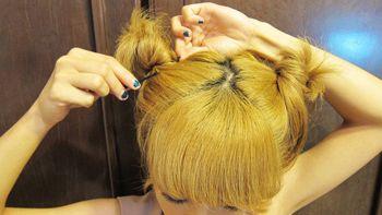 中短头发发型的扎法 简单好看的扎发发型