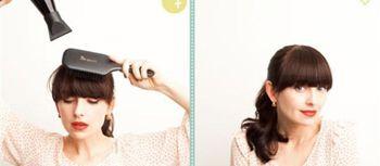 头发比较少想剪刘海 头发少刘海怎么剪图片