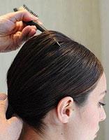 长脸怎样扎中分 长脸型适合的简单扎发