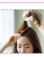 刘海扎起来蓬起来的发型 时尚简单上班发型扎法