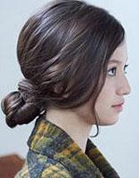 长的脸合适怎么样的扎起来的发型 长的圆脸发型扎法