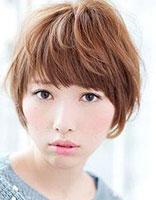 显脸尖的短发 脸尖的女生适合什么发型