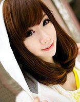 脸型很长烫梨花好看吗 2016韩国女生梨花发型
