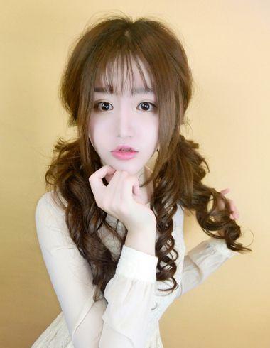 一大波韩版发型来袭 你和萌妹纸之间只差一款发型