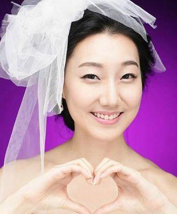 脸胖的新娘适合什么发型 脸大又胖的新娘发型