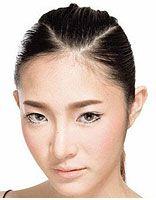 简约的直发发型扎法步骤 简单中长直发发型扎法