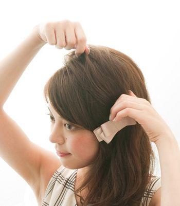 头发少又短怎么扎好看图解 又短又少的头发咋样绑