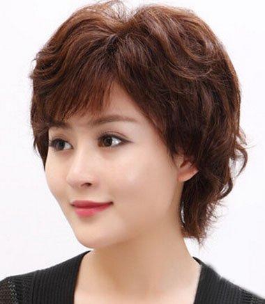 短发烫发发型_女士短发烫发发型_短发烫发发型图片图片