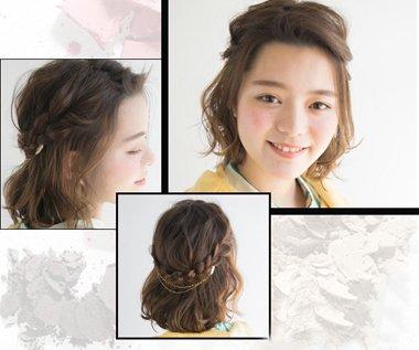 初一学生短发扎头发方法图解,最简单的扎发发型,就是公主头发型咯