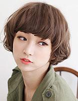 菱形脸型留什么短发型好看 菱型脸适合什么样的发型