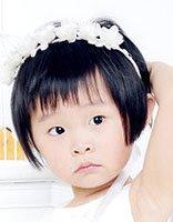 脸胖的两岁小女孩发型 脸胖理个什么发型好看