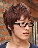 男生方圆脸适合怎样的短发 最新韩式男生短发