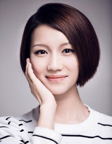 高中生直短发发型 韩国高中生短直发