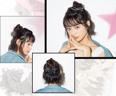 短发女生夏季怎样扎发 夏天方便简单的短发捆绑发法