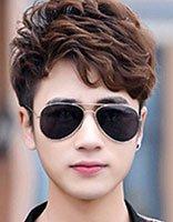 男士棕色发型 2016男士流行发型颜色