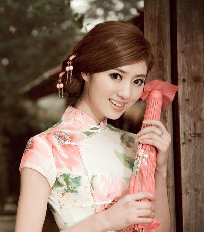 2016时尚中国复古风发型 古风女神端午来袭