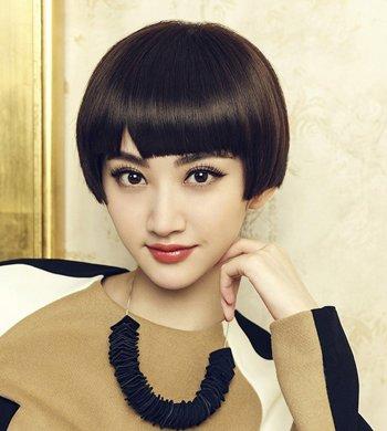 学生装沙宣短发发型 中学生沙宣短发发型图片图片
