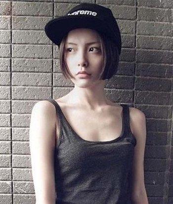 超短发适合戴鸭舌帽吗 圆脸适合的超短发发型