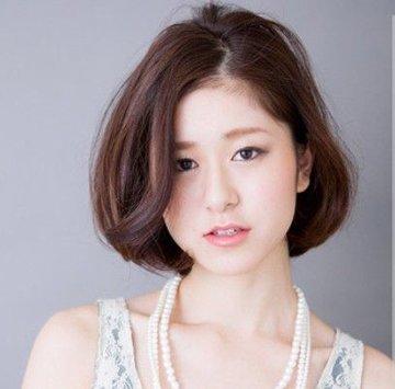 头发少的女生适合什么短发 圆脸头发少短发造型图片
